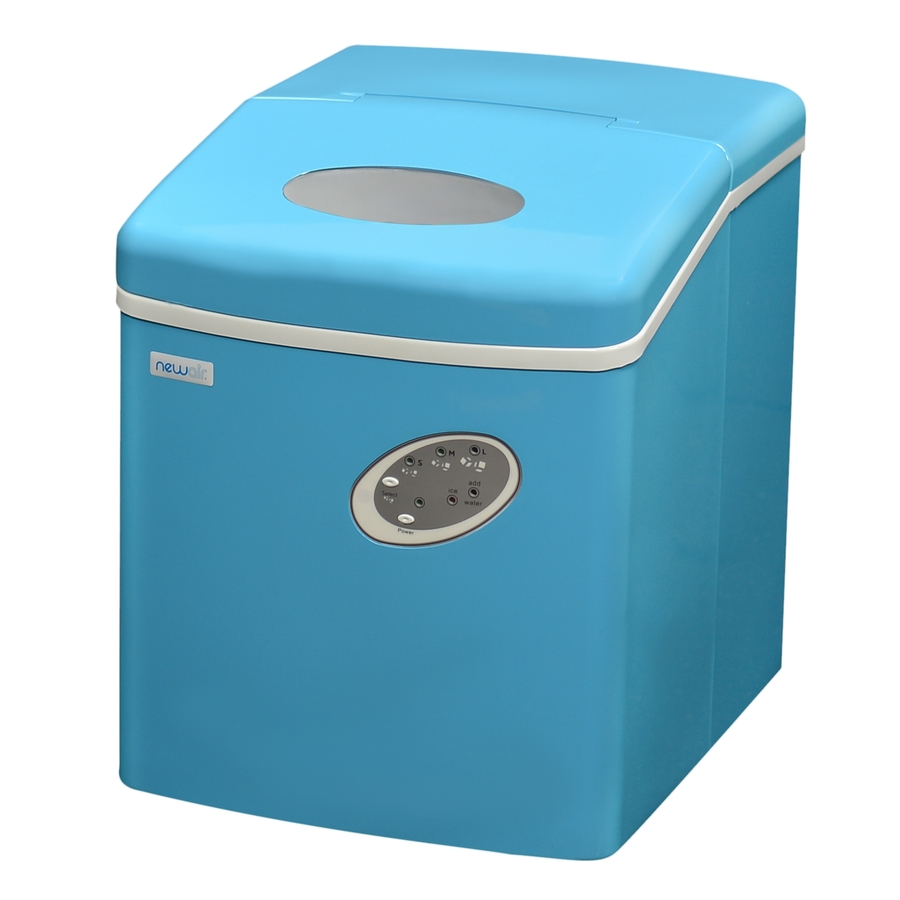 Review of NewAir 28 lb Drop-down Portable Ice Maker