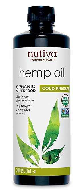 Nutiva Organic Cold-Pressed Unrefined Hemp Oil