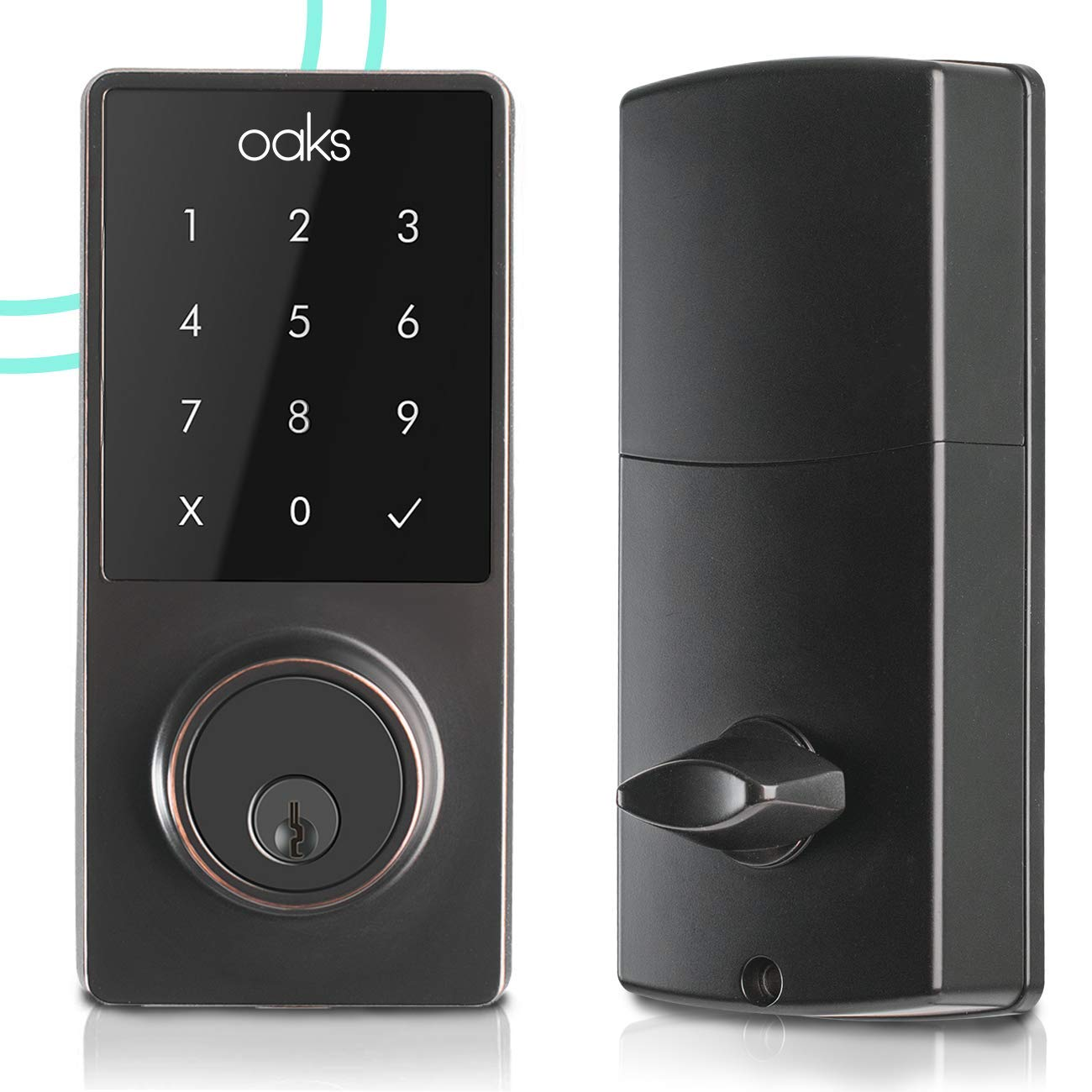 Review of Oaks Smart Electronic Front Door Deadbolt Bluetooth Lock