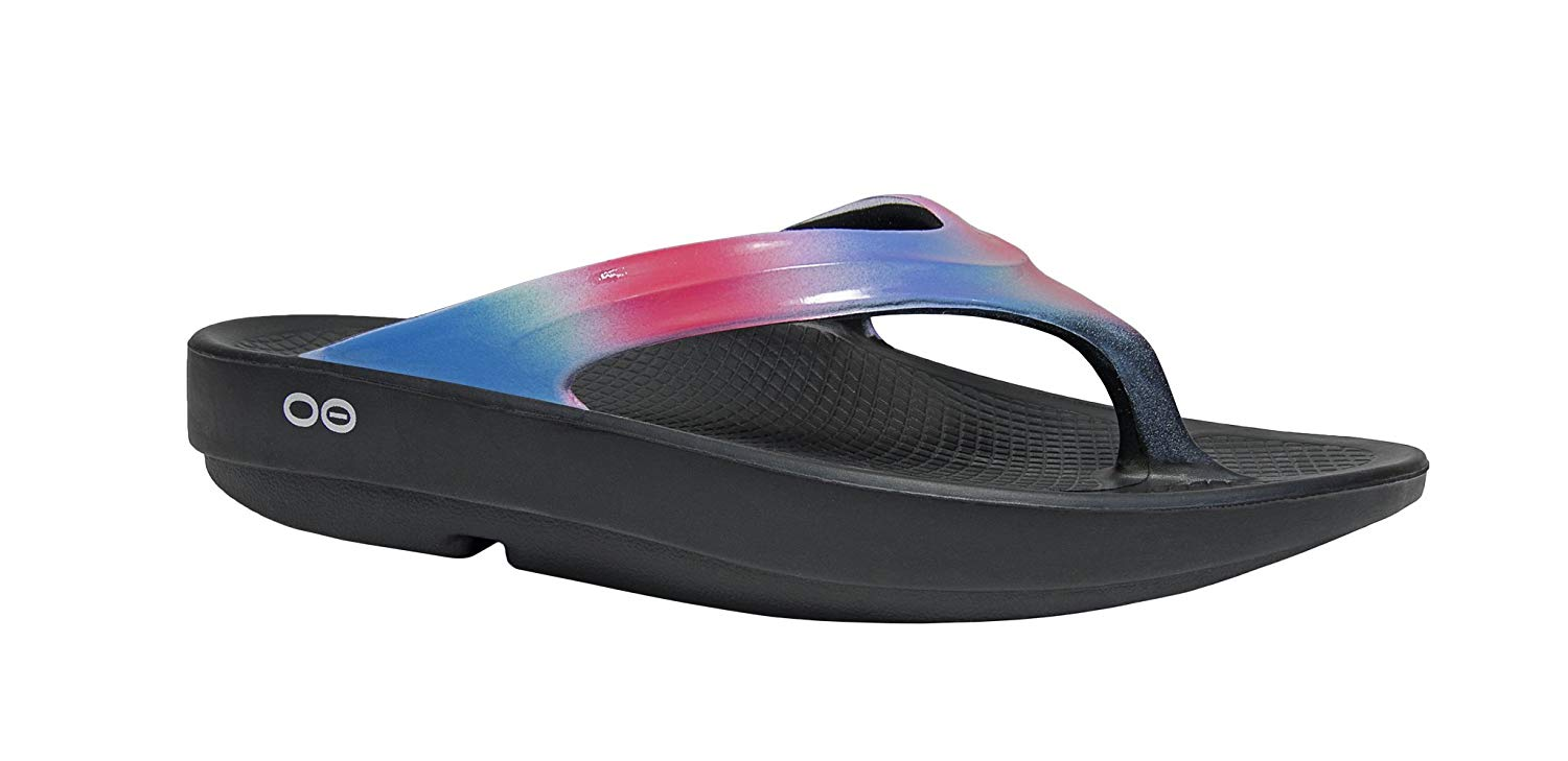 Review of OOFOS - Women's OOlala - Post Exercise Active Sport Recovery Thong Sandal