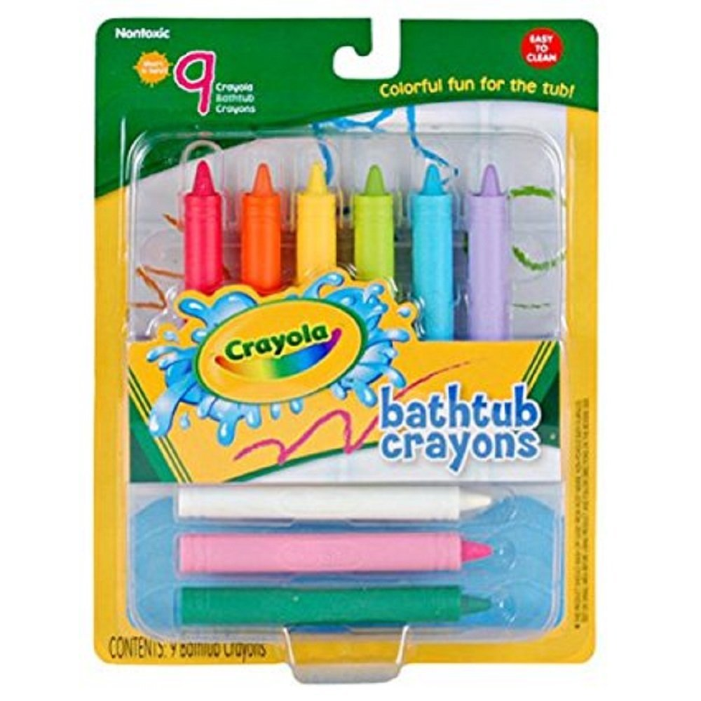 Review of Play Visions Crayola Bathtub Crayons