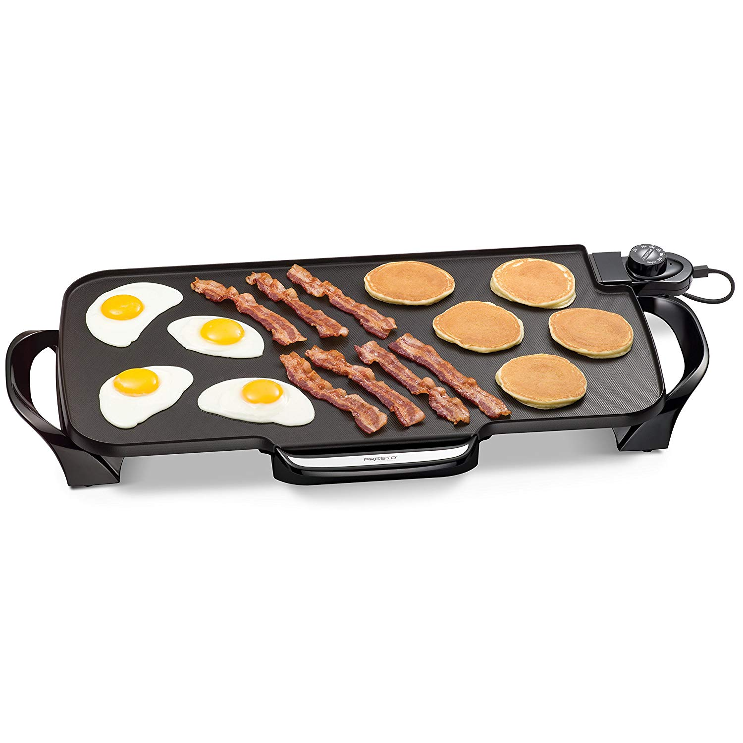 Review of Presto 07061 22-inch Electric Griddle With Removable Handles