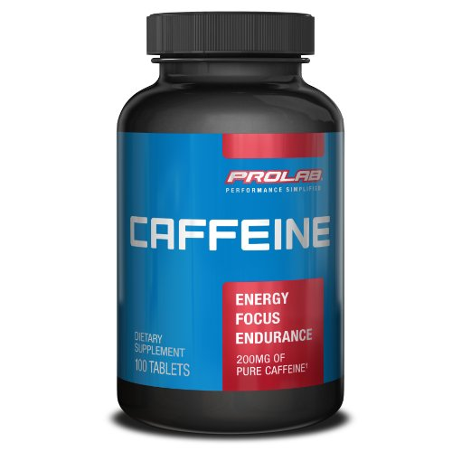 Prolab Caffeine, Maximum Potency, 200 mg, Tablets