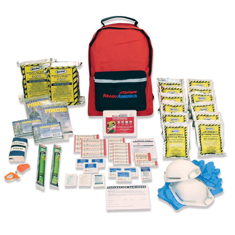Review of Ready America 2-Person 3-Day Emergency Kit with Backpack