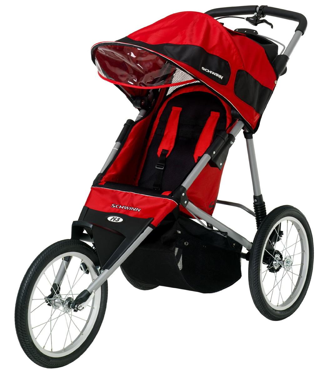 Review of Schwinn Free Runner Jogging Stroller