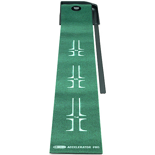Review of SKLZ Accelerator Pro Ball Return Putting Mat