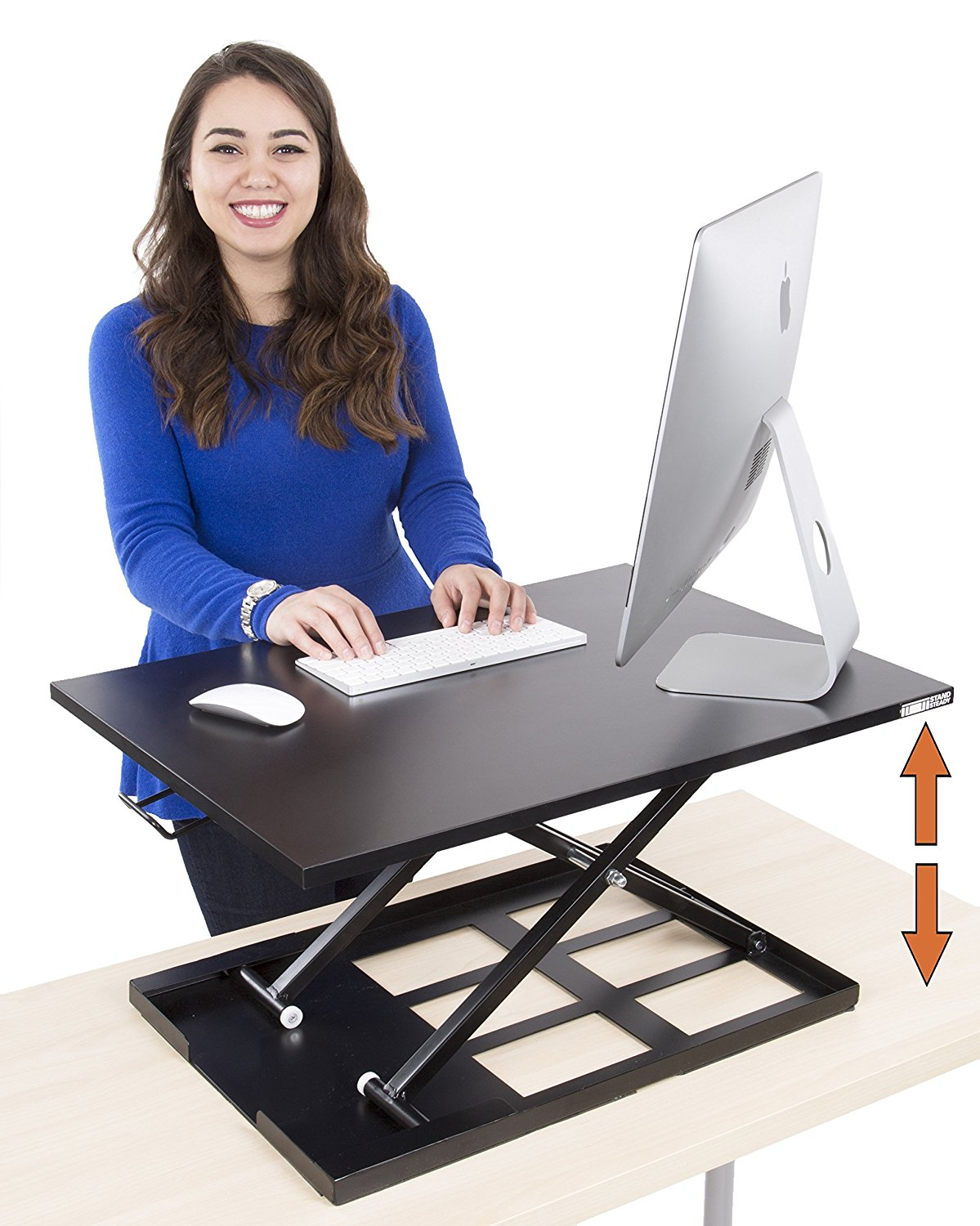 Review of Standing Desk - X-Elite Pro Height Adjustable Desk Converter