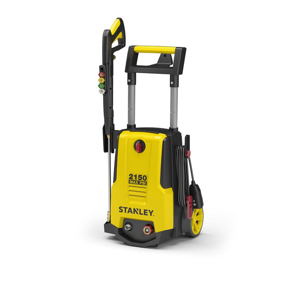 Review of Stanley 2150 psi 1.4 GPM Electric Pressure Washer with Included Soap Foam Cannon (Model:SHP2150)