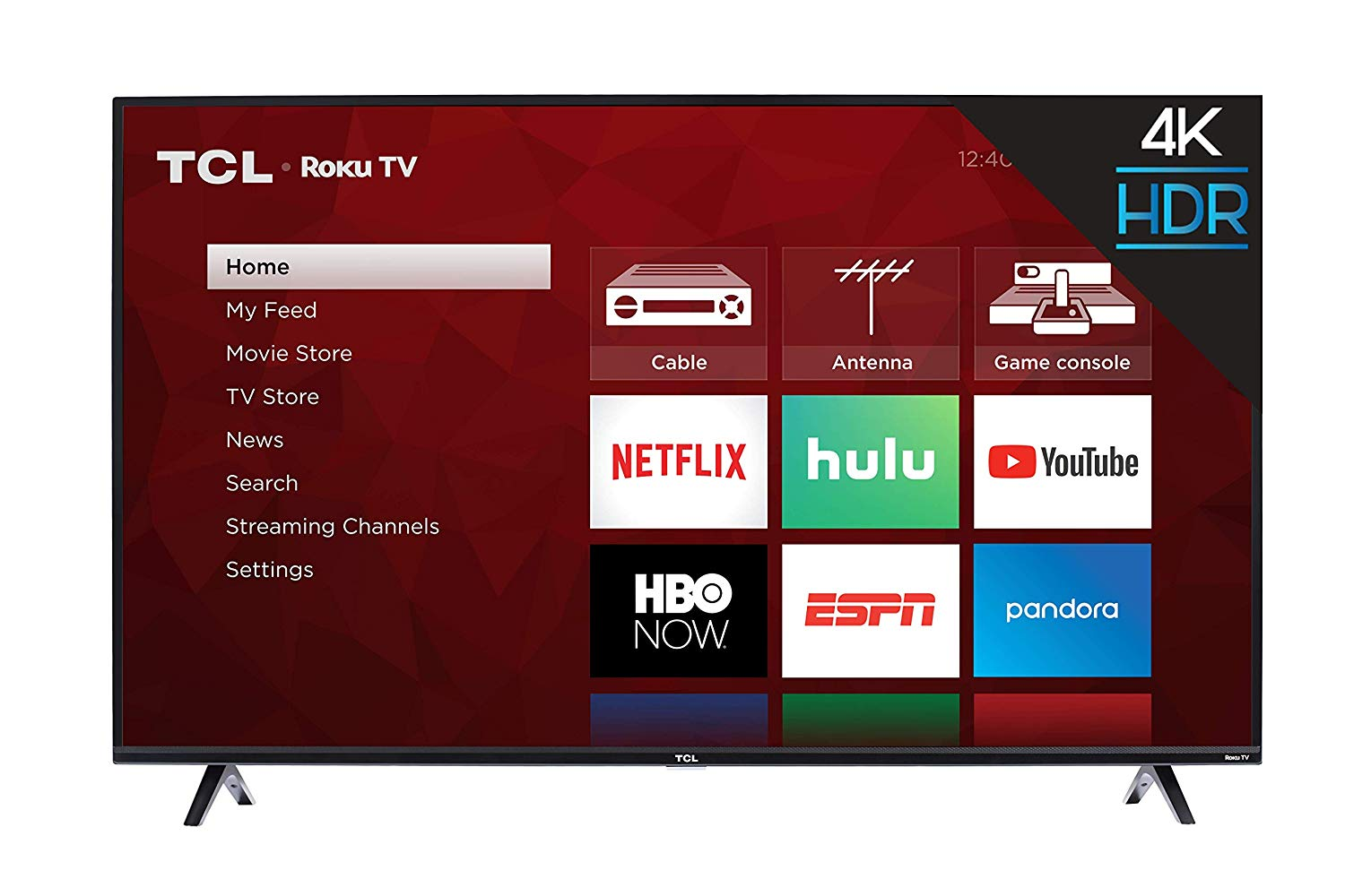TCL 50S425 50 inch 4K Smart LED Roku TV (2019)
