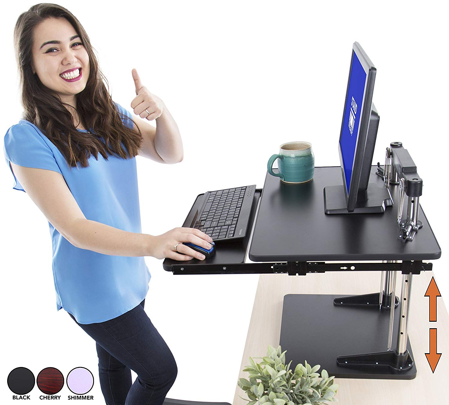 Review of The UpTrak Metro Standing Desk | Sit-to-Stand Desk Converter