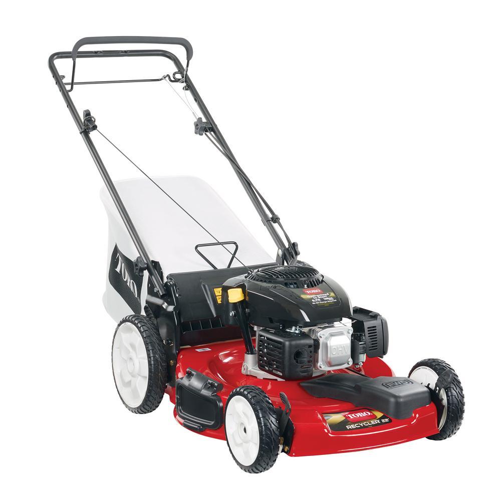 Review of Toro 22 in. Kohler High Wheel Variable Speed Gas Walk Behind Self Propelled Lawn Mower (Model # 20378)