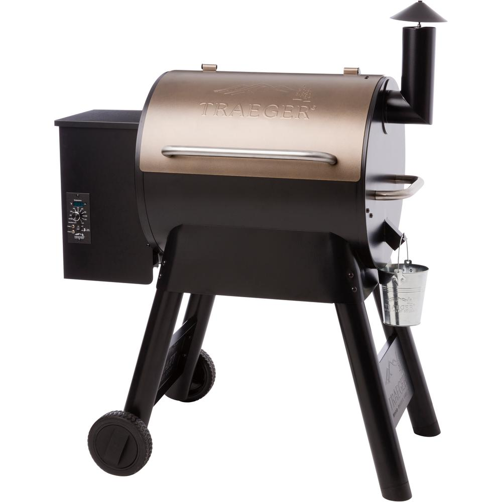 Review of Traeger Pro Series 22 Pellet Grill in Bronze