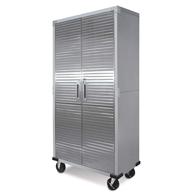 Review of UltraHD Tall Storage Cabinet - Stainless Steel