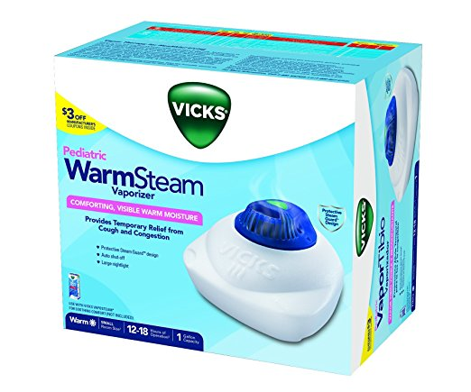 Review of Vicks Nursery 1 Gallon Vaporizer with Night-Light
