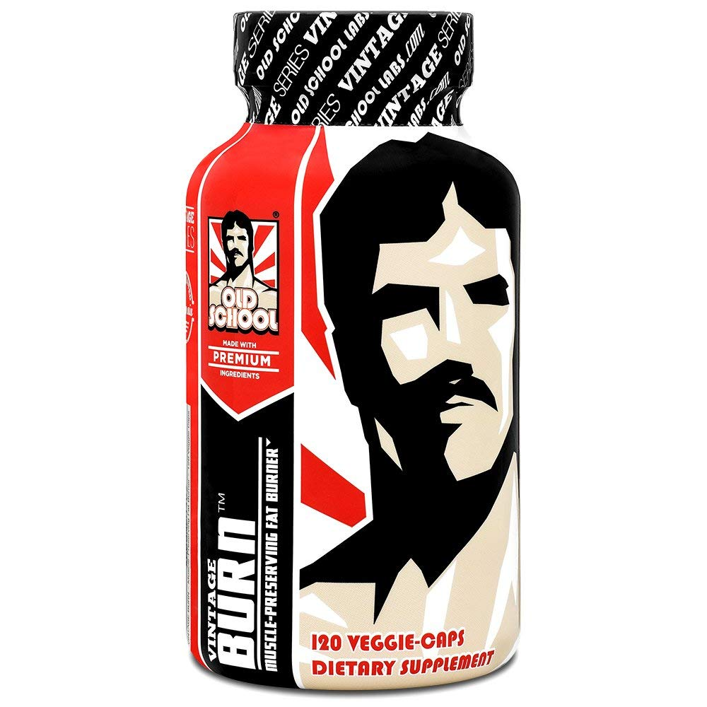 Review of VINTAGE BURN Fat Burner - The First Muscle-Preserving Fat Burner Thermogenic Weight Loss Supplement