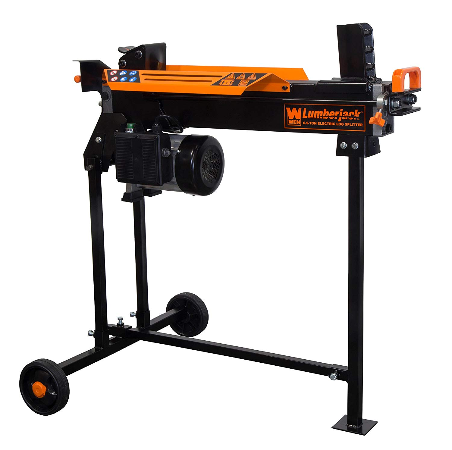 Review of WEN 56207 6.5-Ton Electric Log Splitter with Stand
