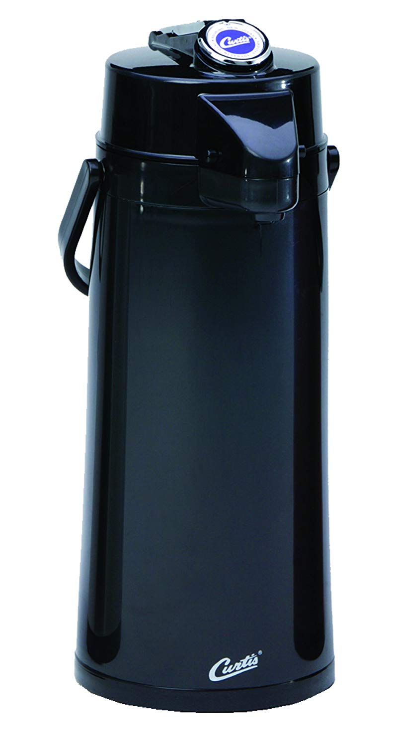Review of Wilbur Curtis Thermal Dispenser Air Pot, Commercial Airpot Pourpot Beverage Dispenser