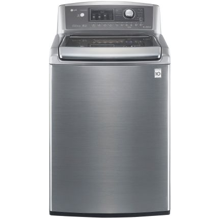 Review of LG Electronics 4.7 cu.ft. High-Efficiency Top Load Washer in Graphite Steel, ENERGY STAR (Model: WT5170HV)