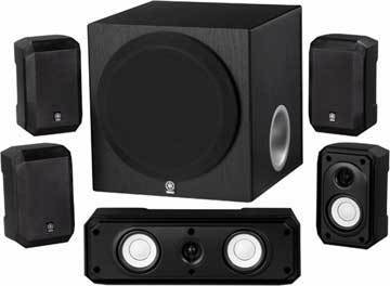 Review of Yamaha NS-SP1800BL 5.1-Channel Home Theater Speaker System