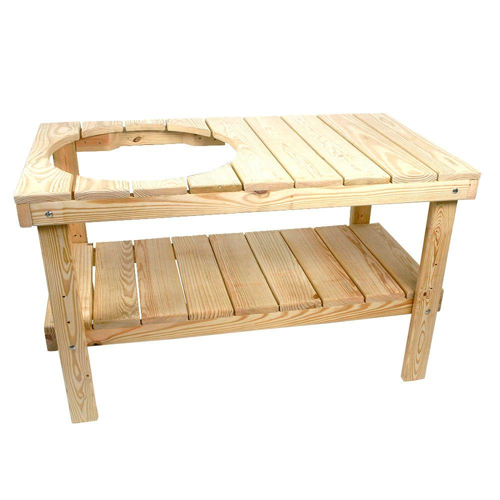 Review of YellaWood Grill Table Kit