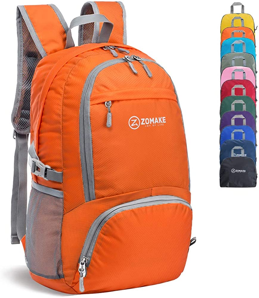 Review of ZOMAKE 30L Lightweight Packable Backpack Water Resistant Hiking Daypack