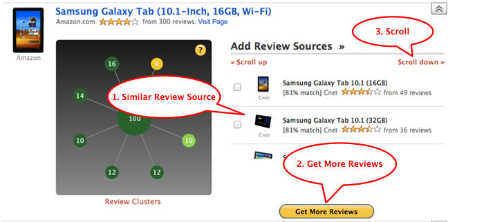 Add More Review Sources